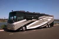 The newest Windseeker is an Allegro Bus 43QRP built by Tiffin Motorhomes