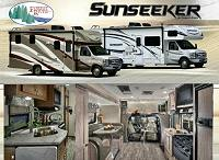 Click to see a full color brochure from Forest River for the 2018 Sunseeker 2500ts